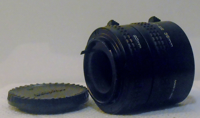 3 Vivitar Automatic Extension Tube lenses