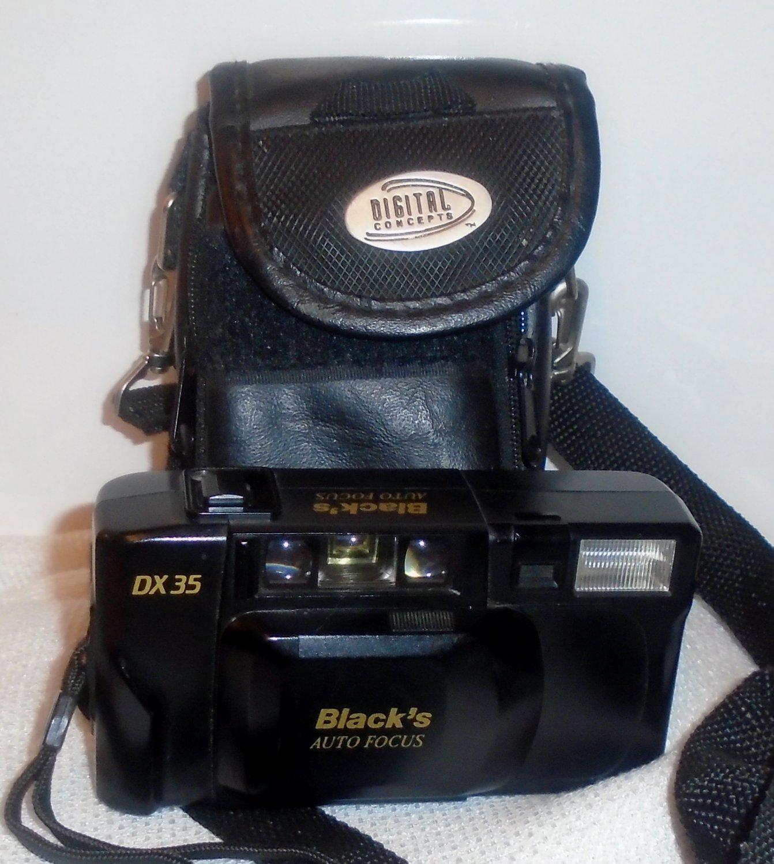 Vintage Black's Auto Focus DX 35mm