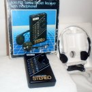 Pulser Radio AM/FM 44-2209-0 Stereo Pocket Receiver with Headphones