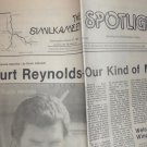 Burt Reynolds -The Similkameen Spotlight - August 27, 1986 - Our Kind of Man