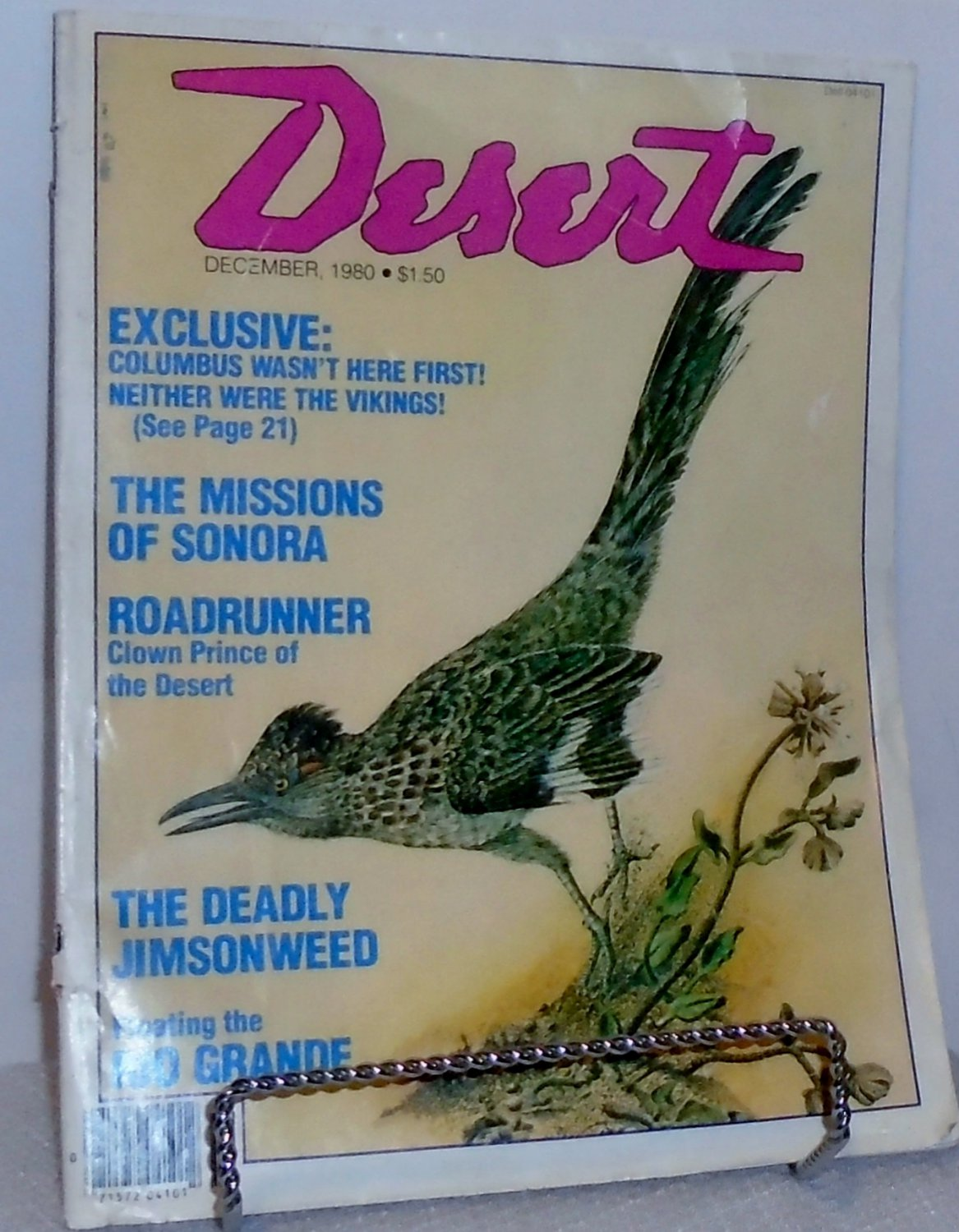 Desert Magazine December 1980 - Roadrunner, Clown Prince of the Desert
