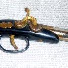 Pirate flintlock pistol / gun table lighter with fancy handle grip