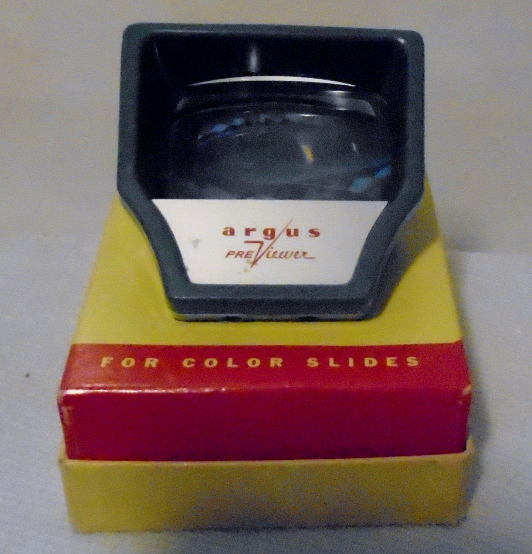 Vintage Argus Color Slide Pre-Viewer Camera Projector (Collectible)