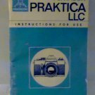 Pentacon Praktica LLC Manual