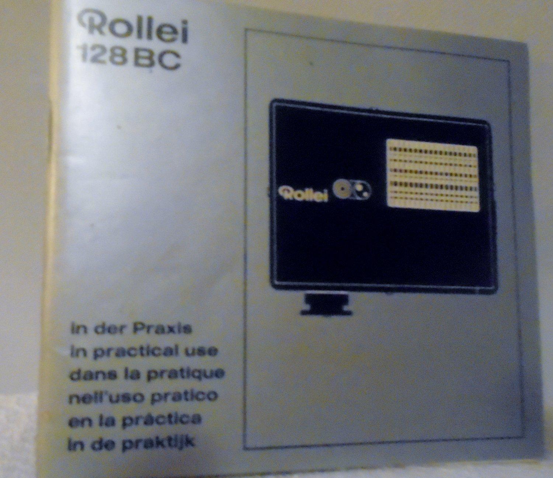 Rollei 128BC manual & brochure