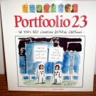 PORTFOOLIO 23: YEAR'S BEST CANADIAN EDITORIAL CARTOONS By Warren Clements *VG+