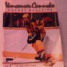 1982 Vancouver Canucks Hockey Magazine