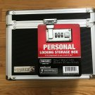 Vaultz Locking Storage Box New