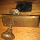 Vintage Skillman Lock With Skeleton Key Hole