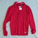 Mens Callaway Golf Blaze Red Placket Polo 1/4 Zip Shirt M NWT dq