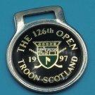 126th Open Troon Scotland 1997 Medallion