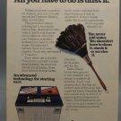 Vintage Magazine Ad Print Design Advertising AC Delco Batteries