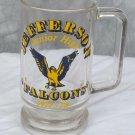 Vintage Glass Handled Mug Jefferson Junior High Schol 1977