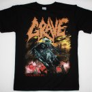 GRAVE YOU'LL NEVER SEE..1992 DEATH METAL LOUDBLAST SINISTER NEW BLACK T-SHIRT