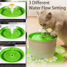 Automatic Pet Cat Small Dog Water Fountain Water Dispenser with Filters