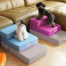 Pet Stairs Breathable Mesh Foldable Pet Stairs