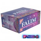 FALIM TURKISH CHEWING GUM Forest Fruits Flavoured 100 pieces FREE P&P