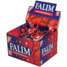 FALIM TURKISH CHEWING GUM Strawberry Flavoured 100 pieces FREE P&P