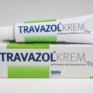 3x Travazol Anti Fungal Cream Vaginal Thrush Penis Thrush Athlete Foot Fungal Sweat Nappy Rash 15g