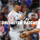 "Baseball First Time Game MLB Gary Sanchez star#2 + 150 MLB patch 3""  2pcs"