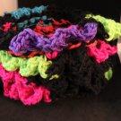 Ruffled Rainbow Dice Bag