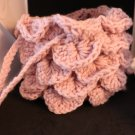 Dragon Scale Dice Bag Baby Pink