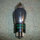 Vintage Sylvania 6A8G Smoked Glass Bottom Foil Getter Made in USA Tested Good