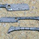 IB razor 91 Custom Hand Made Damascus  Sharp Staight Razor