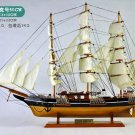 "31"" Cutty Sark 1869 British Clipper Ship;Wooden Training Barques Model; Ready Display"