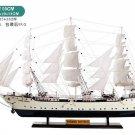 "39"" Suomen Joutsen Finland Wooden Ship Model 1902; Training Barques Model; Ready Display 100CM"
