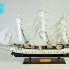 "31"" Suomen Joutsen Finland Wooden Ship Model 1902; Training Barques Model; Ready Display 80CM"
