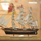 "31"" Gorch Fock (1958) German Navy Model Ship;Wooden Navy Barques Model; Ready for Display;"
