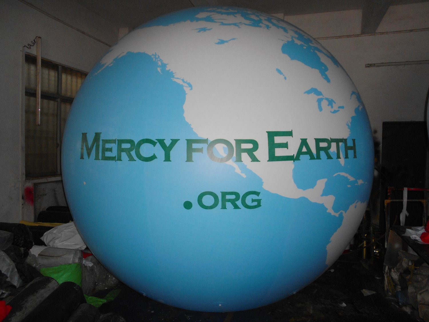 11ft (3.3m) Giant Inflatable Globe Map World Balloon /Free Logo (PVC)