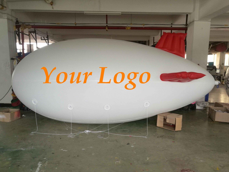 16ft (5M) Giant Inflatable Advertising Blimp /Flying Helium Balloon/Free Logo