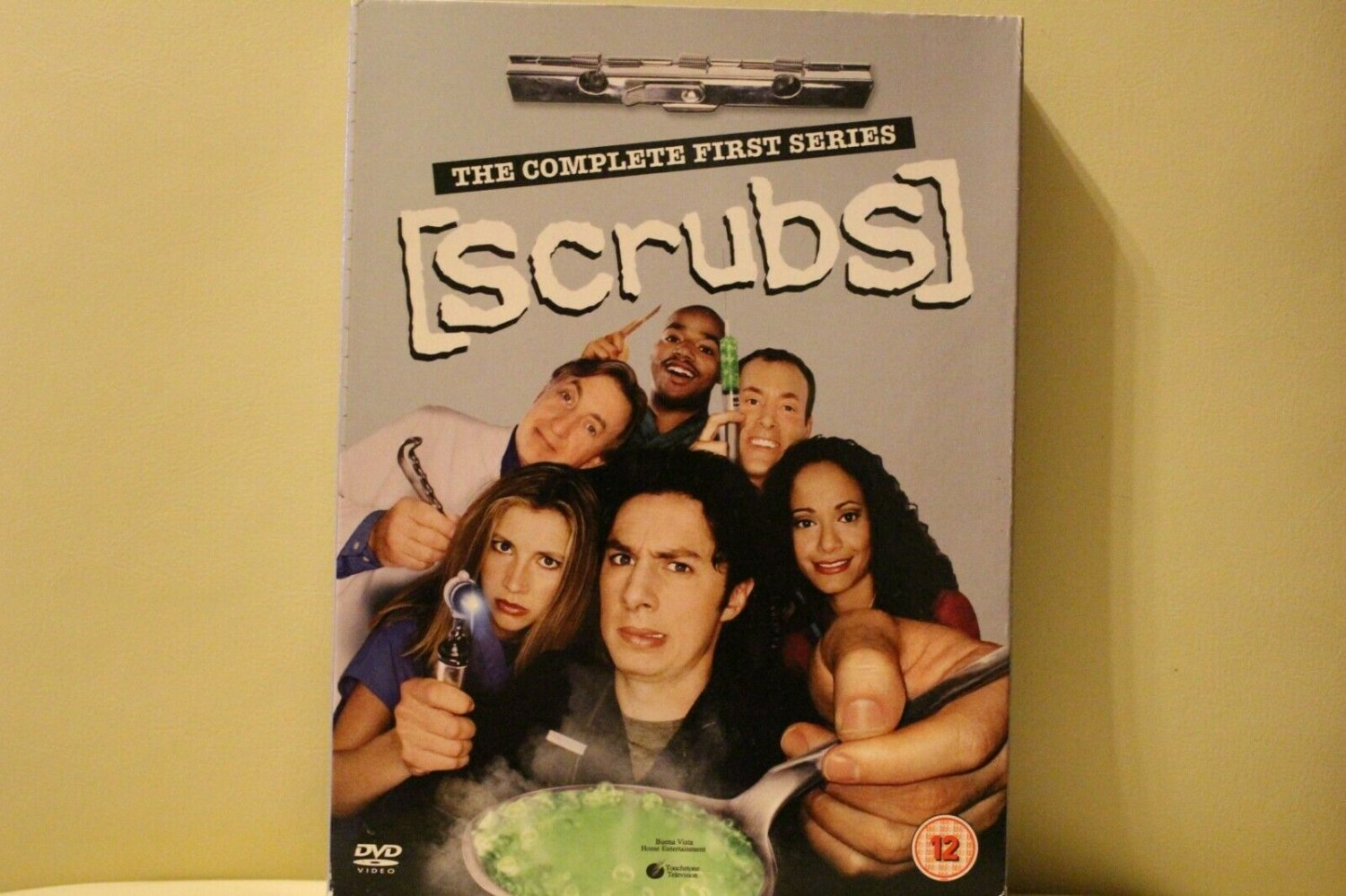 Scrubs The Complete First Series DVD