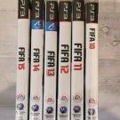PS3 - FIFA Bundle inc. FIFA 10, FIFA 11, FIFA 12, FIFA 13, FIFA 14 & FIFA 15!