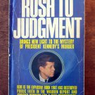 Rush to Judgment by Mark Lane