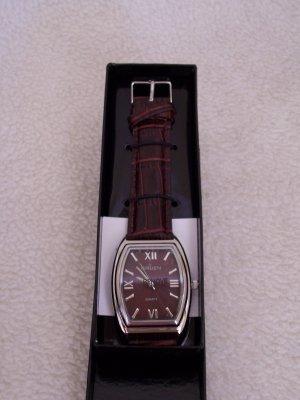 Gruen Men's watch - Brown leather strap