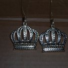 pair of Gold crown ornaments - Large