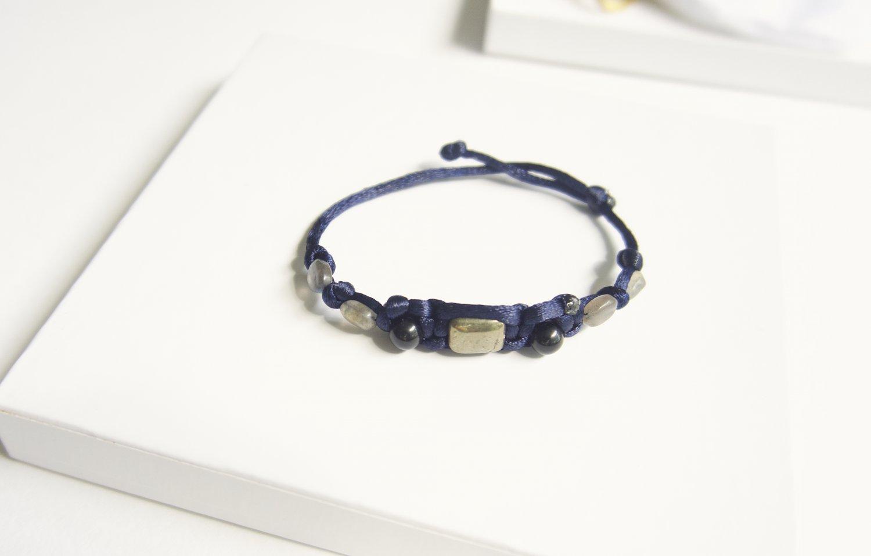 Protection from Negativity Bracelet Navy