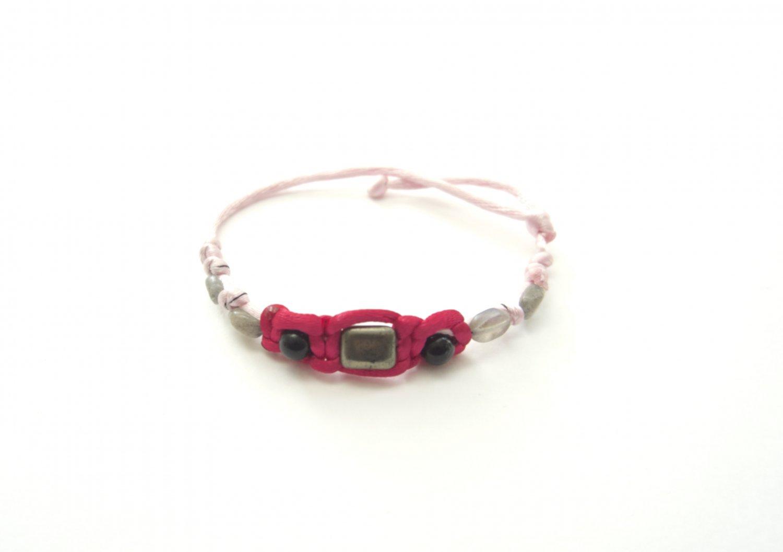 Protection from Negativity Bracelet Pink
