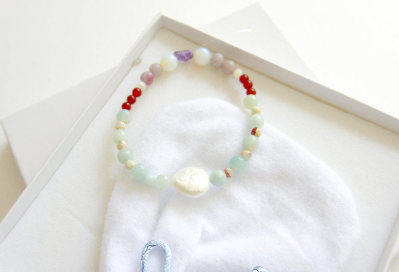 Green Wave Bracelet