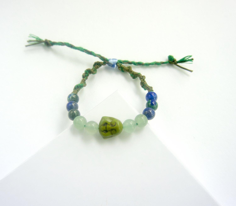 Green Aventurine Budda Bracelet