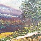 Signed Stunning Sindh Landscape (Original Art Oil Painting)