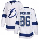 Men's Tampa Bay Lightning #86 Nikita Kucherov White Stitched Jersey
