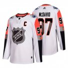 Mens Edmonton Oilers 97 Connor McDavid White All Star Jerseys