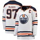 Women's Connor McDavid #97 Jersey Edmonton Oilers White Hockey
