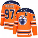 Youth Connor McDavid #97 Edmonton Oilers Hockey Player Orange Jersey
