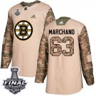 Youth Boston Bruins #63 Brad Marchand Camo Stanley Cup Final Jersey