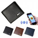 Genuine Leather Anti Theft Wallet (GPS and Bluetooth)